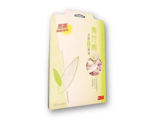 3M 思高牌 青竹棉天然抗菌抺布