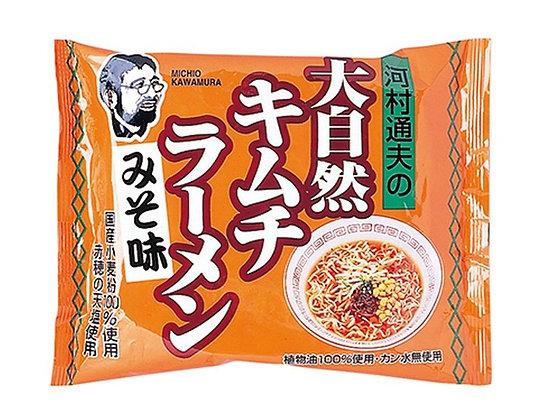 河村通夫大自然拉麵 - 泡菜味噌 (4包)