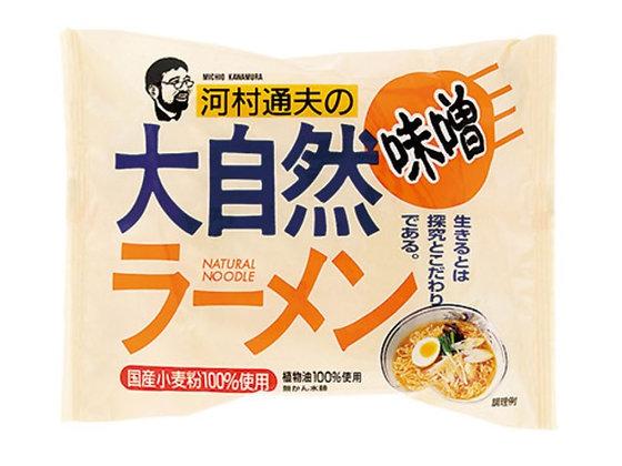 河村通夫大自然拉麵 - 味噌 (4包)