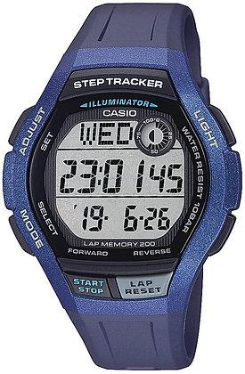 Casio 男裝計步器腕錶