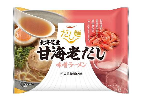 tabete北海道甜蝦高湯味拉麵 (4包)