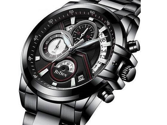 Biden 計時賽車設計男士腕錶