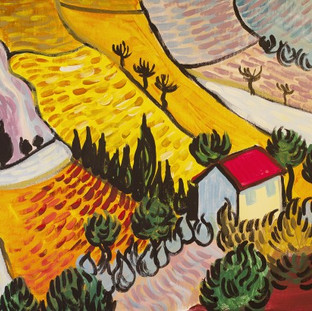 Van Gogh Countryside