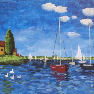 Monet's Boats