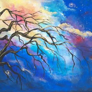 Tree and Galaxy
