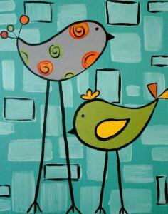 Happy little Birds