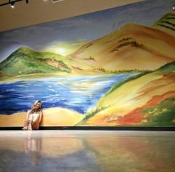 Ladscape mural
