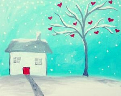 Little House and a Lovely Tree