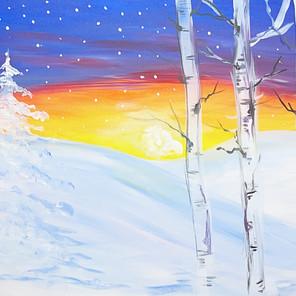 Bright Winter Snow