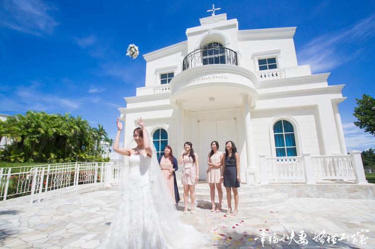 [海外婚禮] Anna & Justin 婚禮攝影|婚禮紀錄|新娘秘書|海外婚禮@關島Guam 希爾頓大飯店 水星教堂