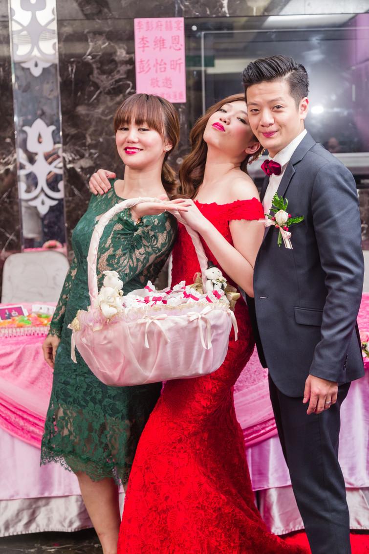 [婚禮紀錄] Wayne & PONPON大合照搶先看 婚禮攝影|婚禮紀錄|平面攝影|動態攝影 @台北Taipei 蓮田飯店