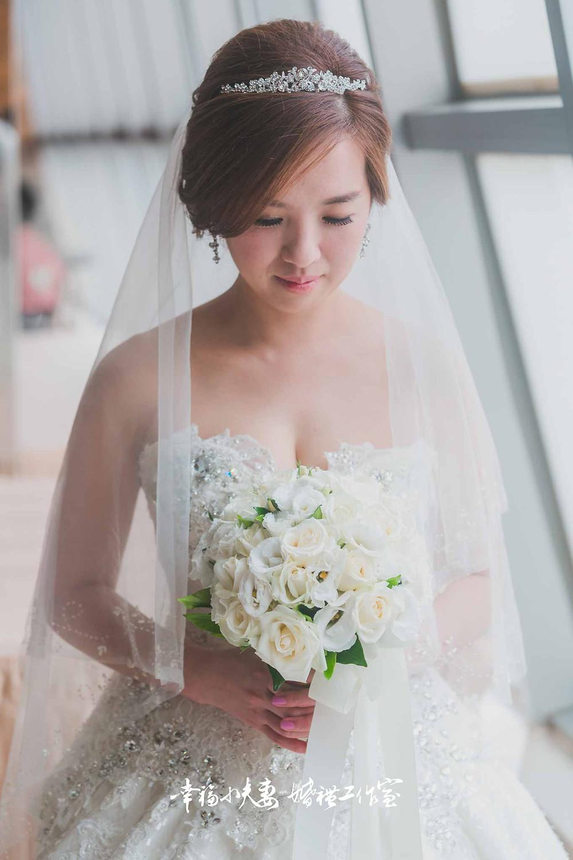 新娘心蕙獨照