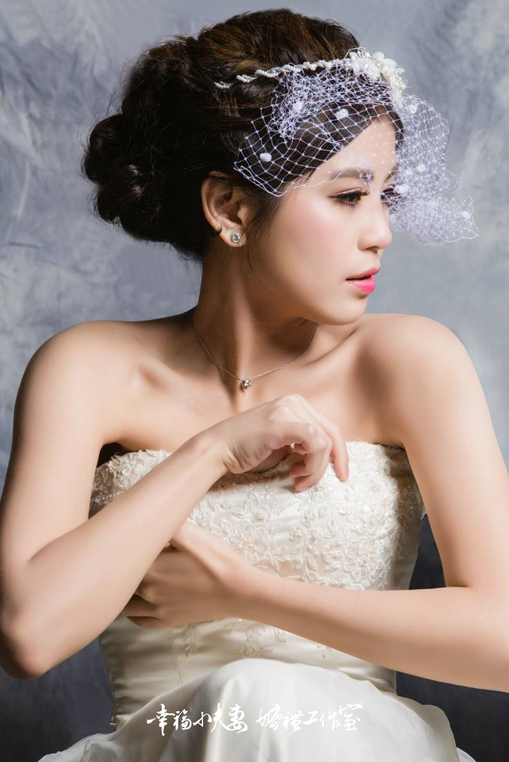 [新娘造型作品]  新娘秘書|平面攝影 @台北Taipei 幸福小夫妻 婚禮工作室