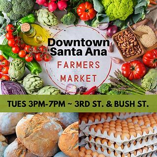 DTSA Farmers Market 3pm-7pm 3rd n Bush .