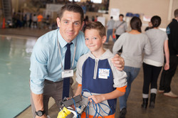 YOUNG INVENTOR AND GEOFF WRIGHT