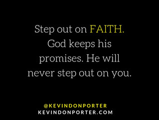 Step Out on Faith
