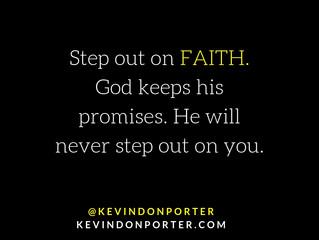Step Out on Faith
