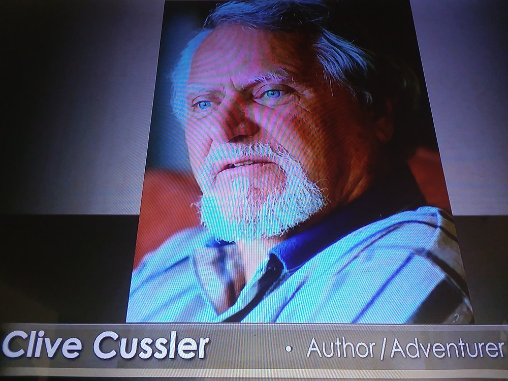 Cussler passed on Feb. 24, 2020. Didn't know we shared the same birthday!