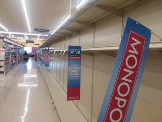 Viral Outbreak = Empty Shelves at Safeway