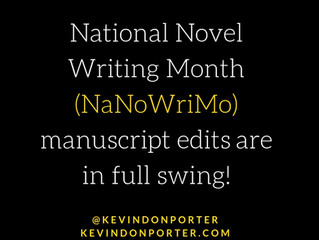 It's National Novel Writing Month!                   NaNoWriMo