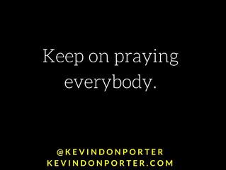 Pray. Persist.