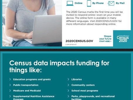 Participate in the Census - Ends Sept 30