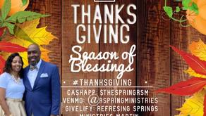 A local church is giving back this season