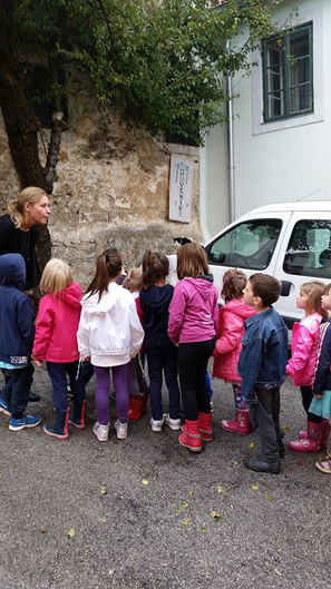 """Walking tour for our Art Project """"Cats of Kastav"""""""