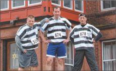 Jail Break 5K Run, Damp and Fast