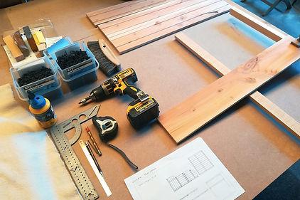 Fabrication mobilier salle de bain 1