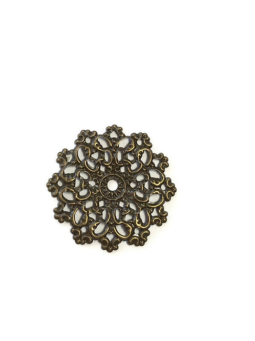 bronze filigree shrinkets