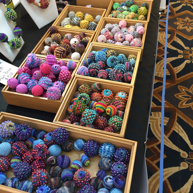 Knitted Beads