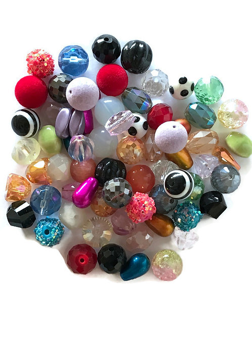 12 mm bead mix set for shrinkets shrink plastic jewelry