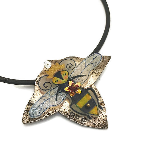 Grateful Bee online shrink plastic jewelry making class by julie haymaker