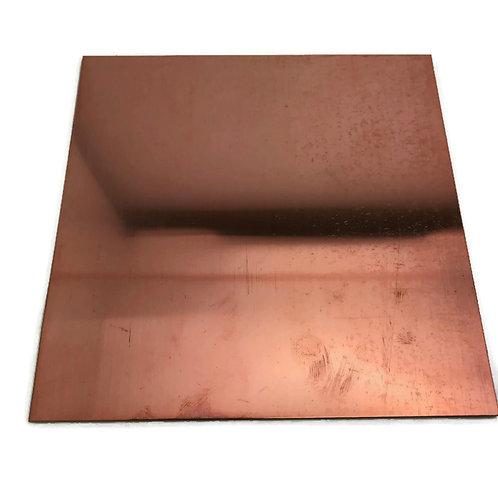 6 x 6 inch  24 gauge  sheet  copper julie haymaker
