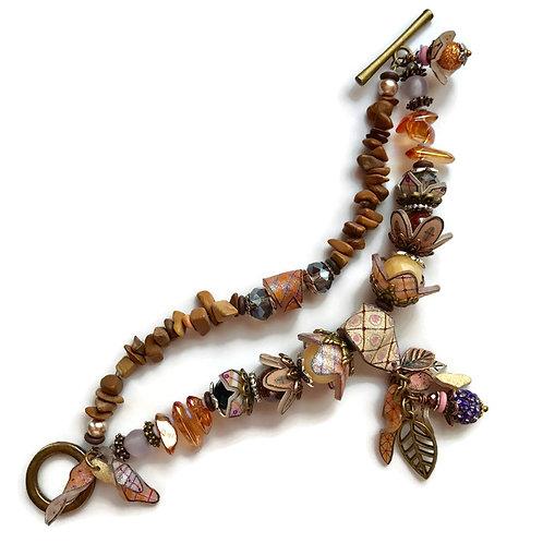 shrinkets shrink plastic bracelet online class kit julie haymaker