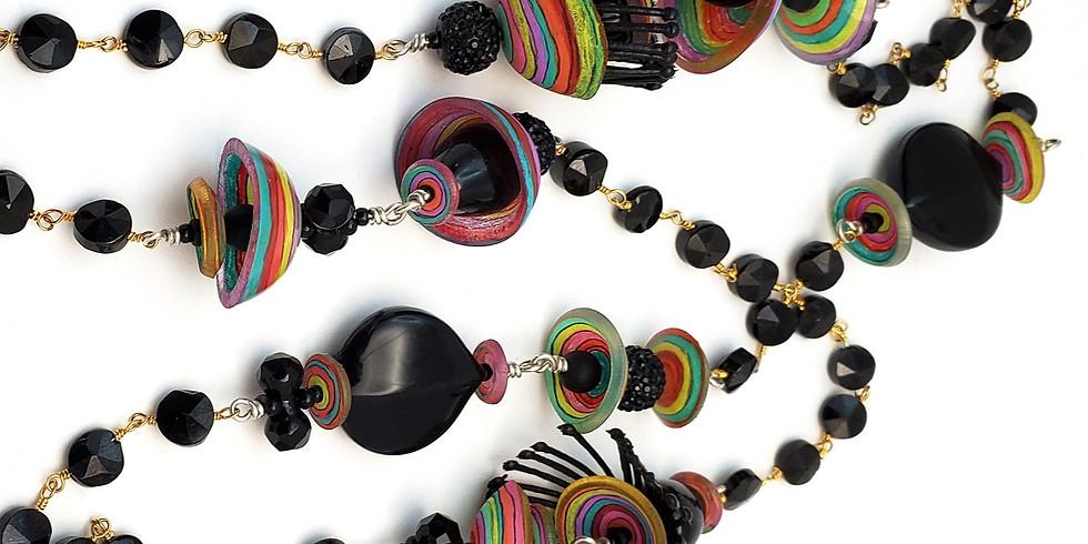 Color Wheels Necklace