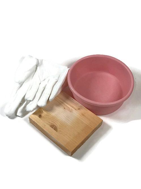 shrink plastic hand forming kit