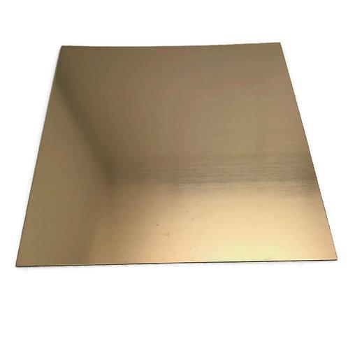 "julie haymaker shrinkets 24 gauge bronze sheets metal 6"" x 6 """