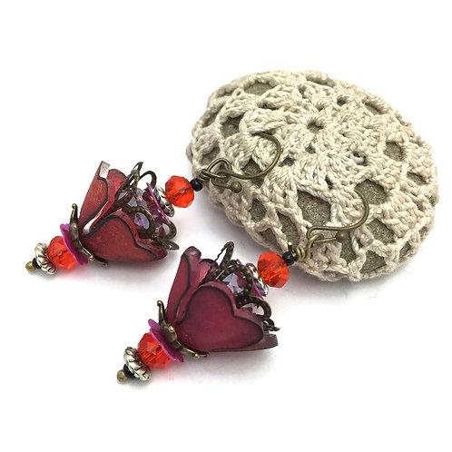 heart earring template