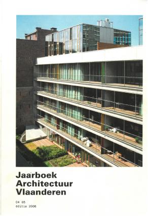 Jaarboek Architectuur Vlaanderen 2006