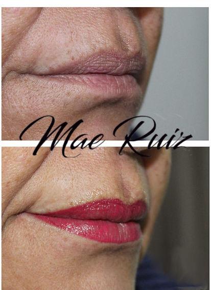 Micropigmentación de labios Las Palmas, Mae Ruíz, Micropigmentación Las Palmas