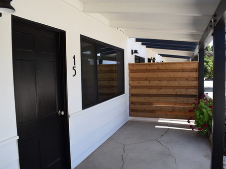 From drab to FAB!- Motel renovation!
