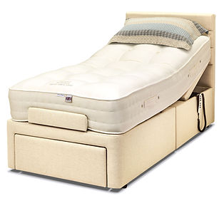 3ft_Dorcester_Bed Elegance 2000 mattress
