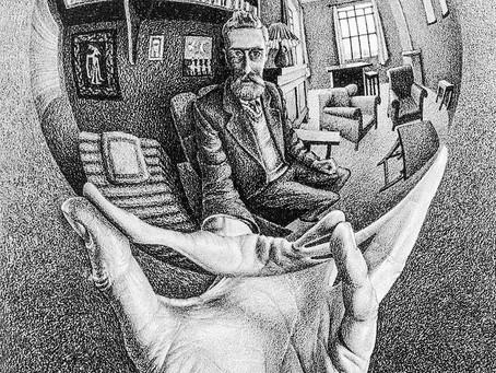 A mente cria as realidades objetivas e subjetivas e as relaciona.