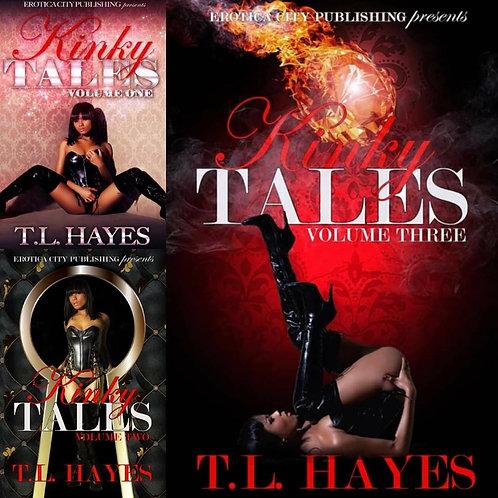 3 BOOK BUNDLE DEAL - Kinky Tales Volume 1, 2 & 3 - Paperback