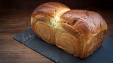 Pan semi-dulce con té Matcha