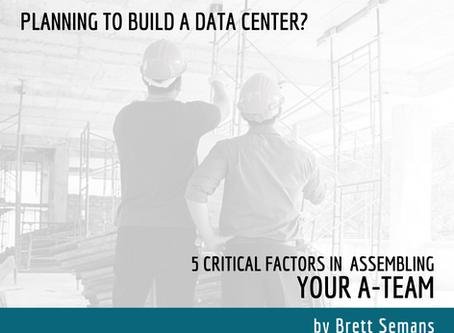 Five Critical Success Factors in Data Center Construction