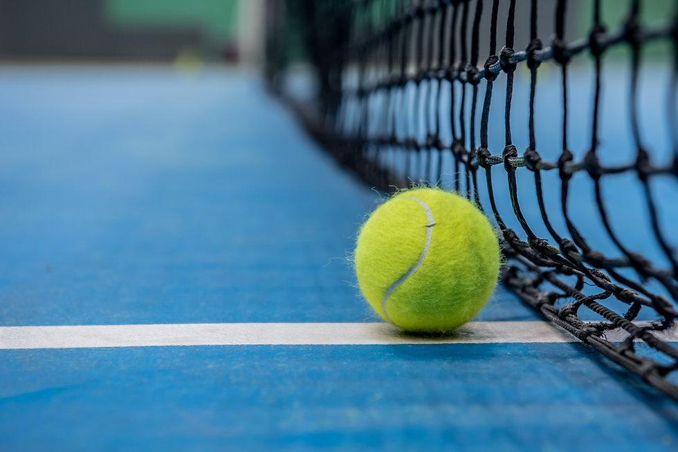tennis ball net tennis court