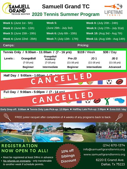 2020 Samuel Grand Summer Camp Flyer (1).